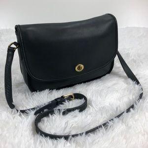 Coach Vintage Black Leather City Bag 9790